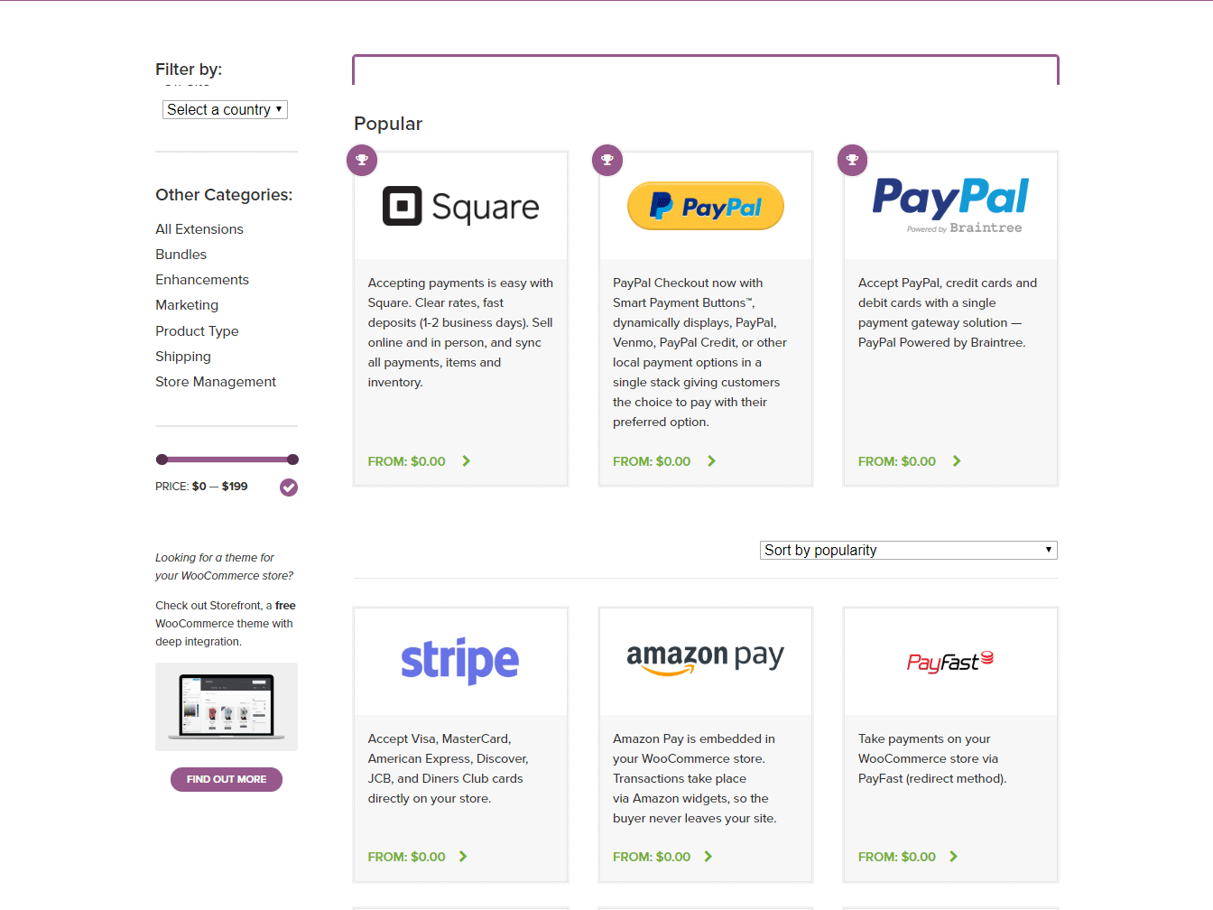 WooCommerce payment gateway integrations