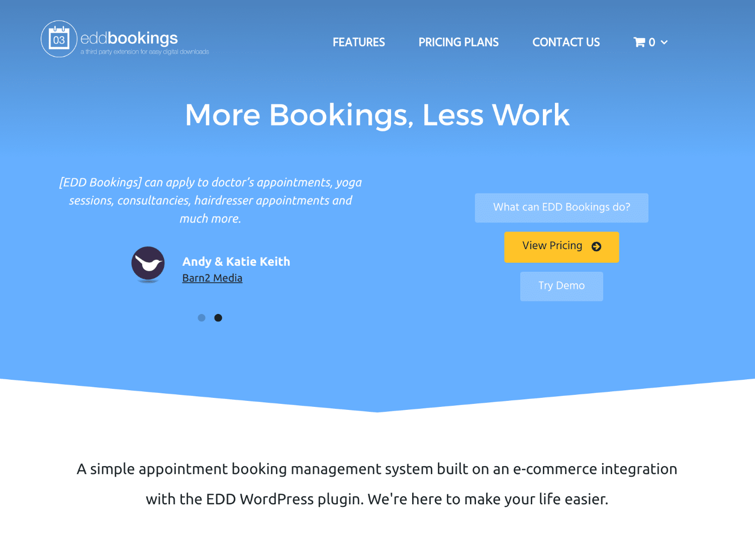 EDD Bookings