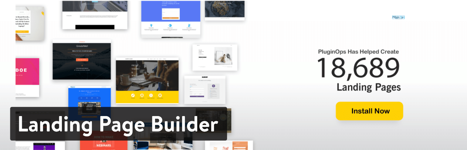 Плагин Landing Page Builder