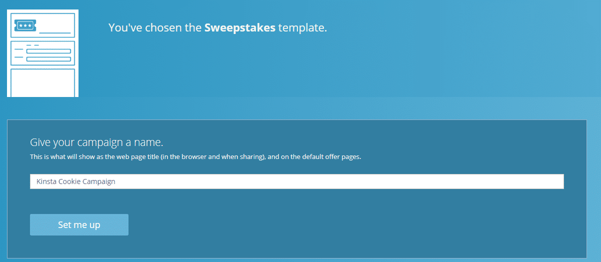 WooBox sweepstakes name