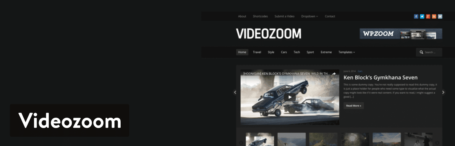 Videozoom WordPress plugin