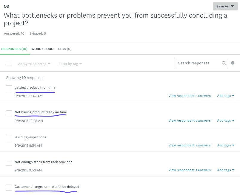 Bottleneck answers