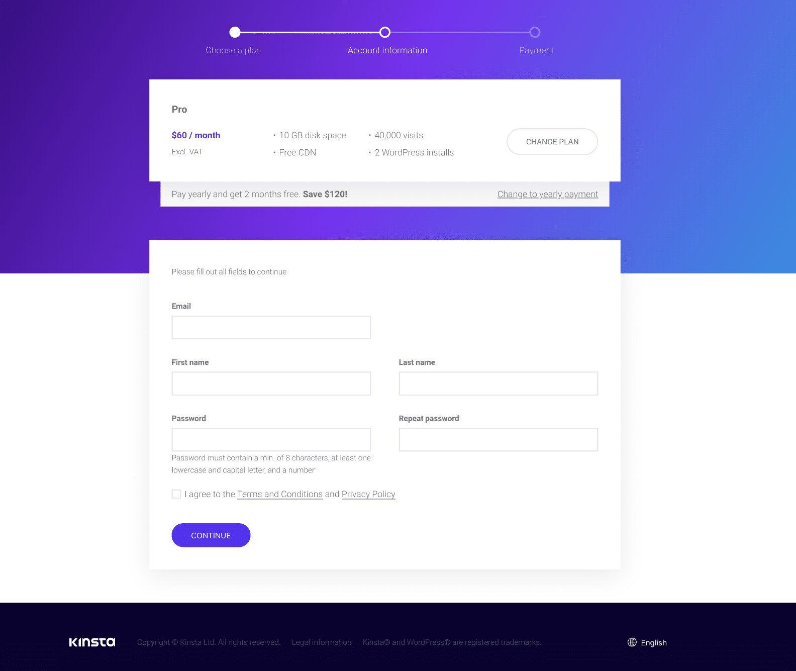 Ecommerce checkout simplified