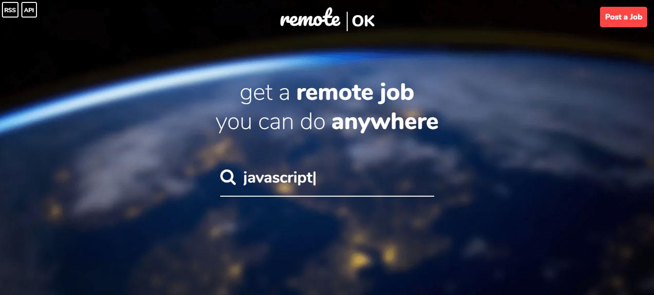 Remoteok.io