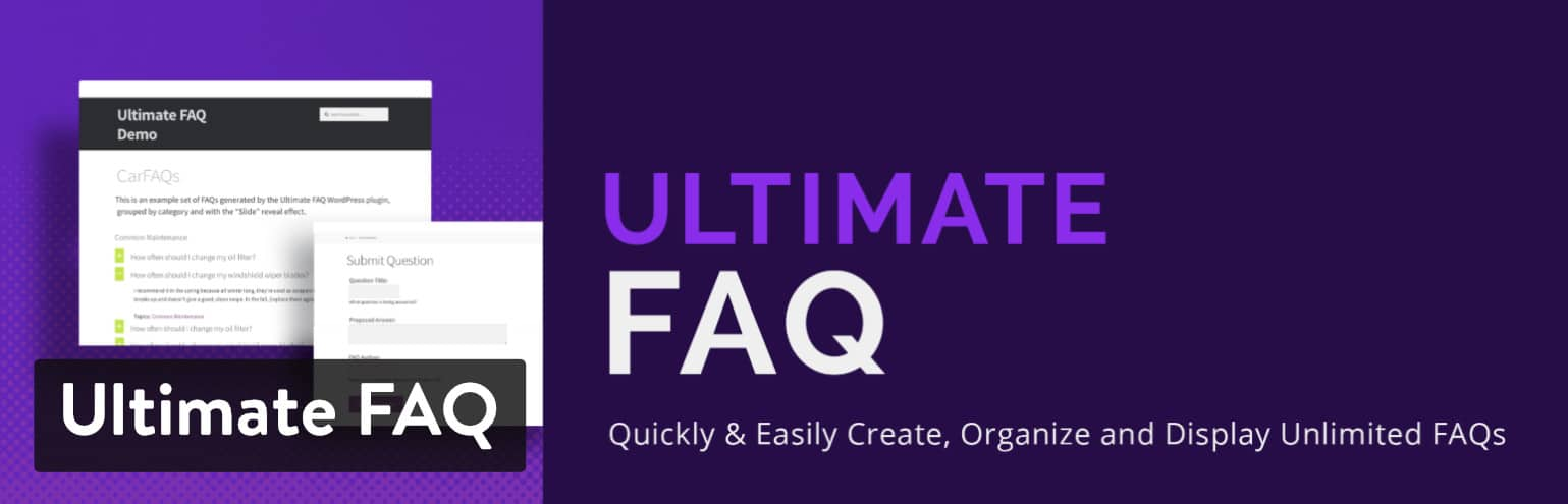 WordPress FAQ plugin: Ultimate FAQ plugin