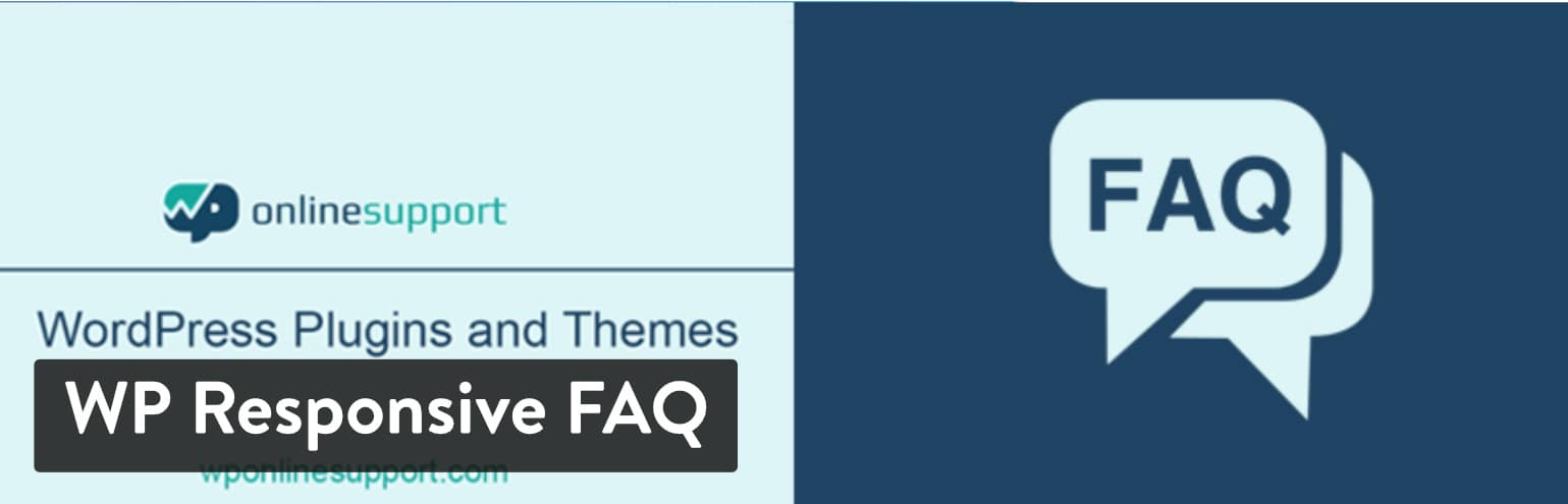 WordPress FAQ plugin: WP Responsive FAQ