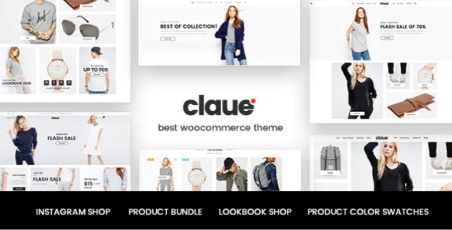 claue - best WooCommerce themes