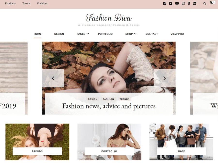 fashion diva - best WooCommerce themes