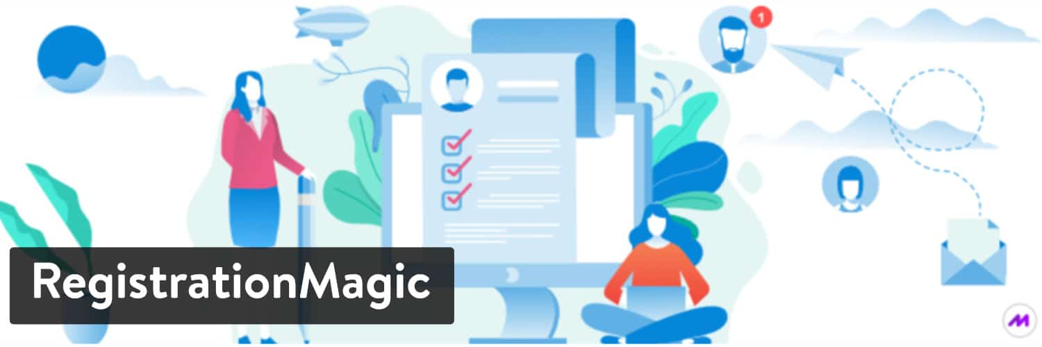 RegistrierungMagic WordPress Plugin