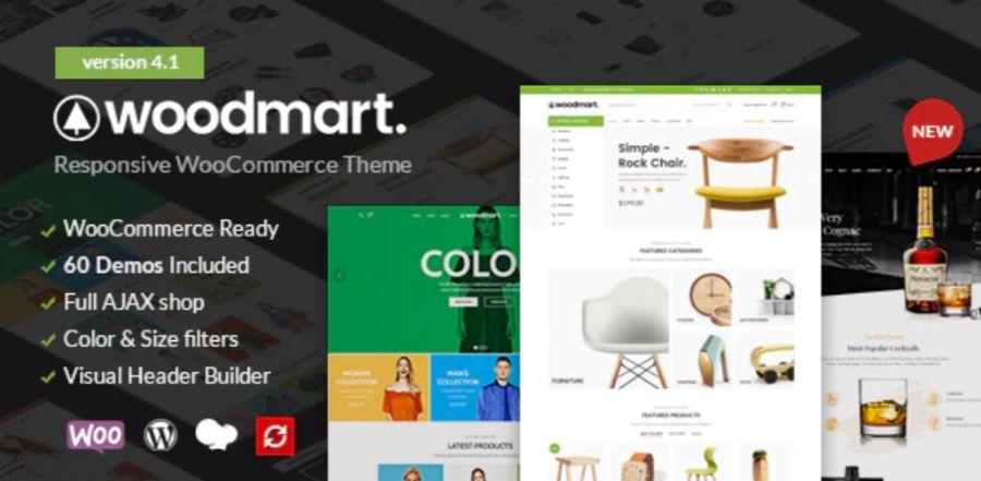 WooCommerce theme: WoodMart
