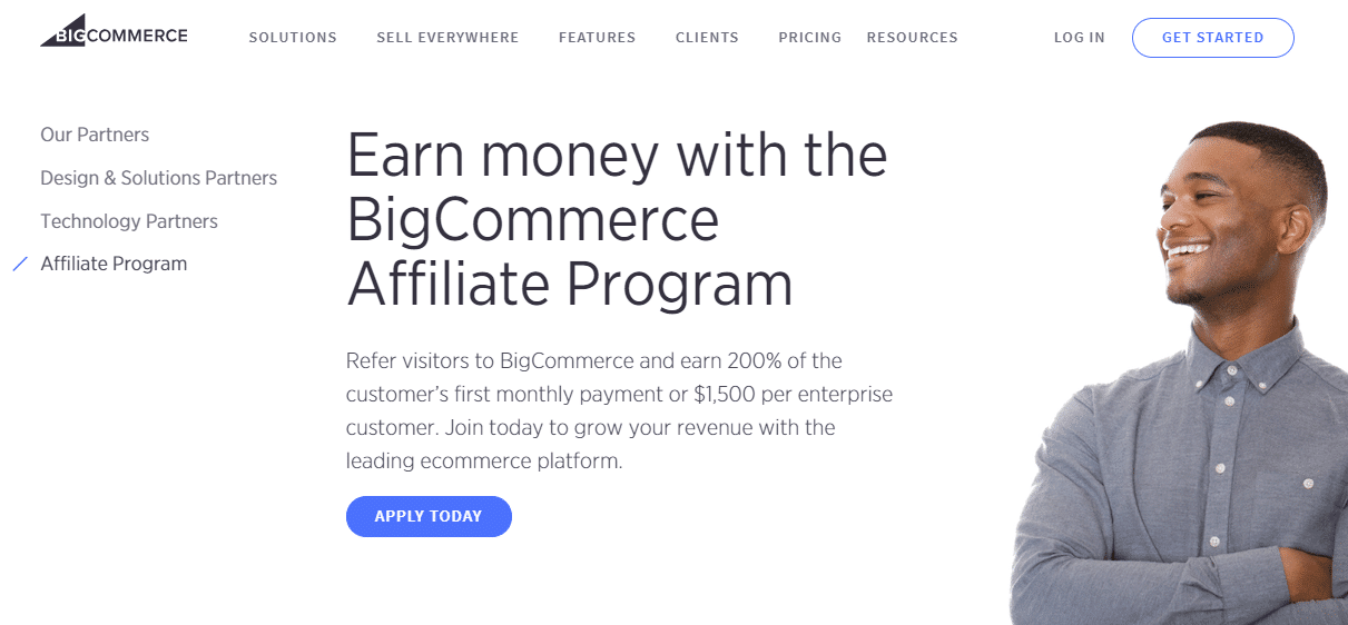 BigCommerce affiliate program