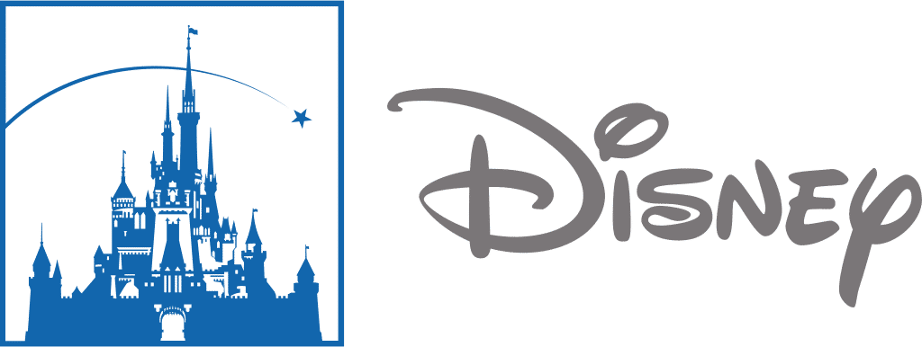 Disney logo with a display font