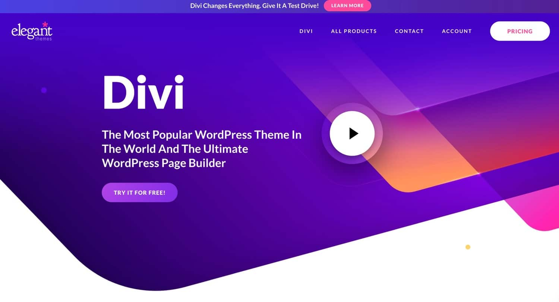 The Divi theme