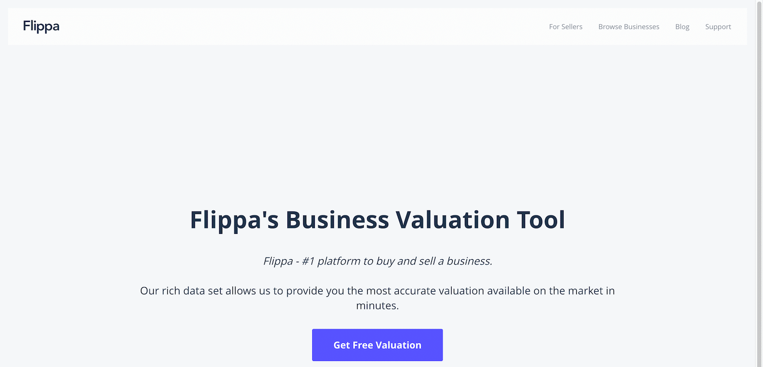 How Much Is My Website Worth: Flippa website value calculators