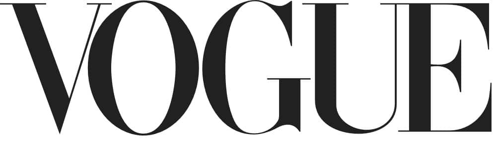 Vogue logo with modern font
