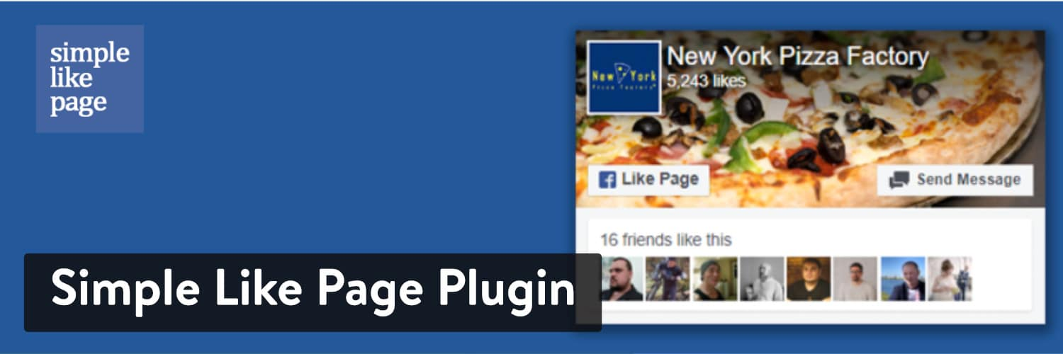 WordPress Facebook Plugins: Simple Like Page Plugin