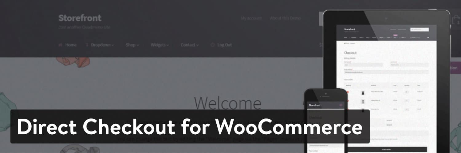 Direct Checkout for WooCommerce
