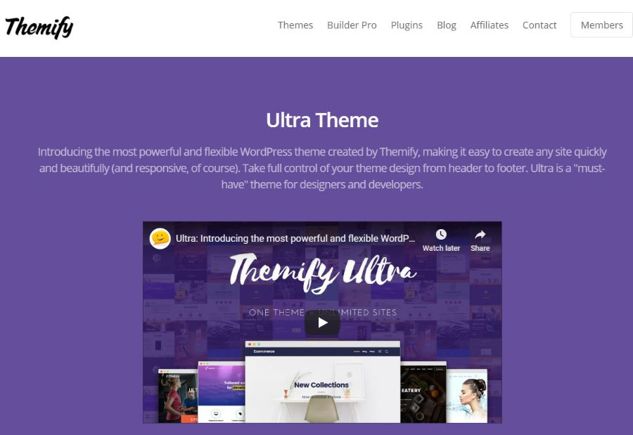 themfy - WordPress membership theme