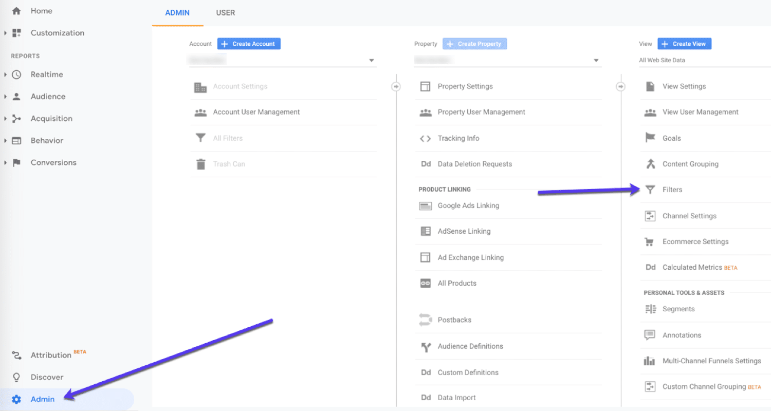 Use Google Analytics filters to break up your data.