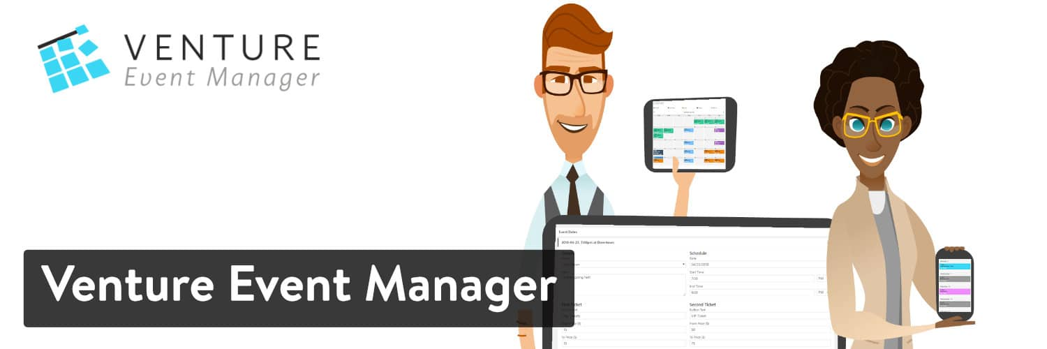 Venture Event Manager WordPress plugin