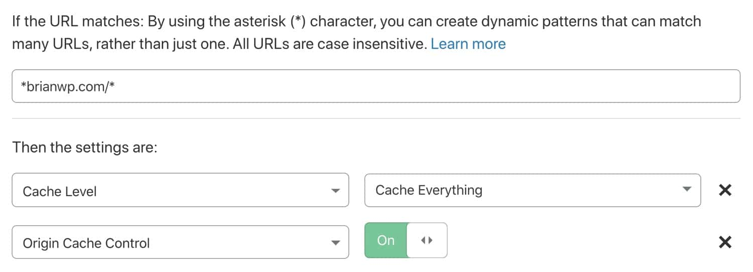 Enable origin cache-control in your Cloudflare page rule.