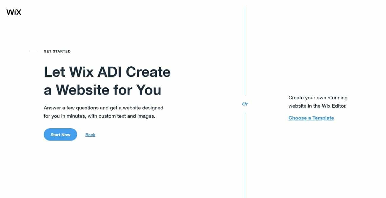 wix interface adi