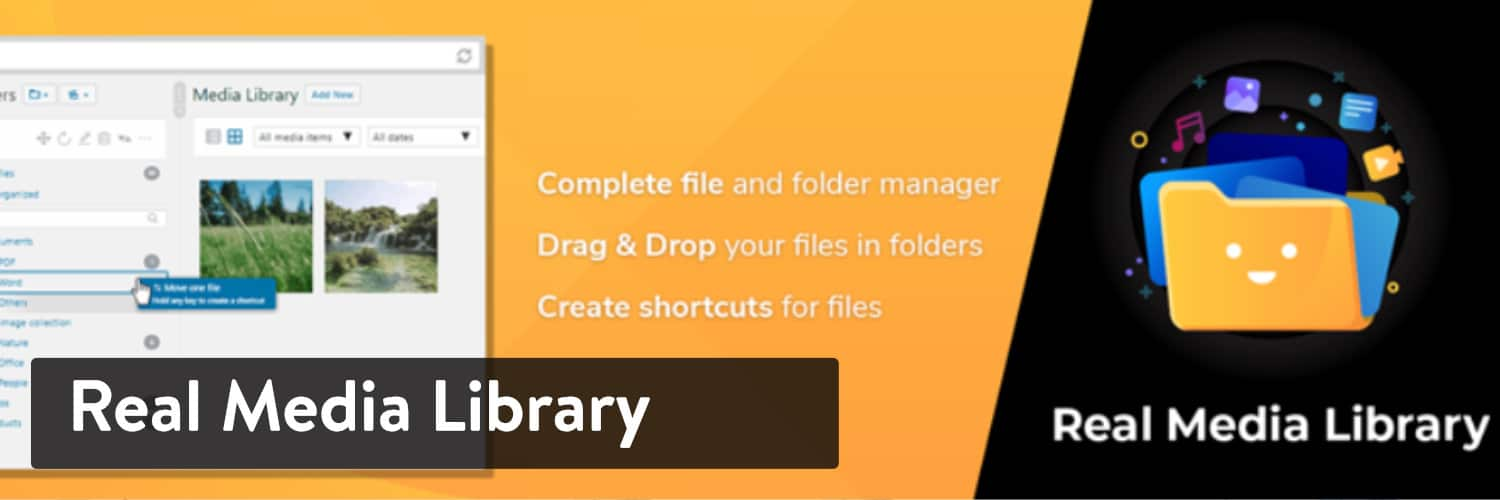 Real Media Library WordPress-plugin