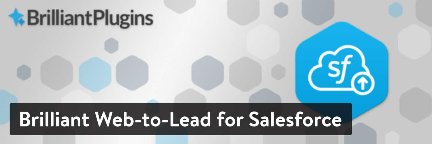 Brilliant Web-to-Lead for Salesforce WordPress plugin