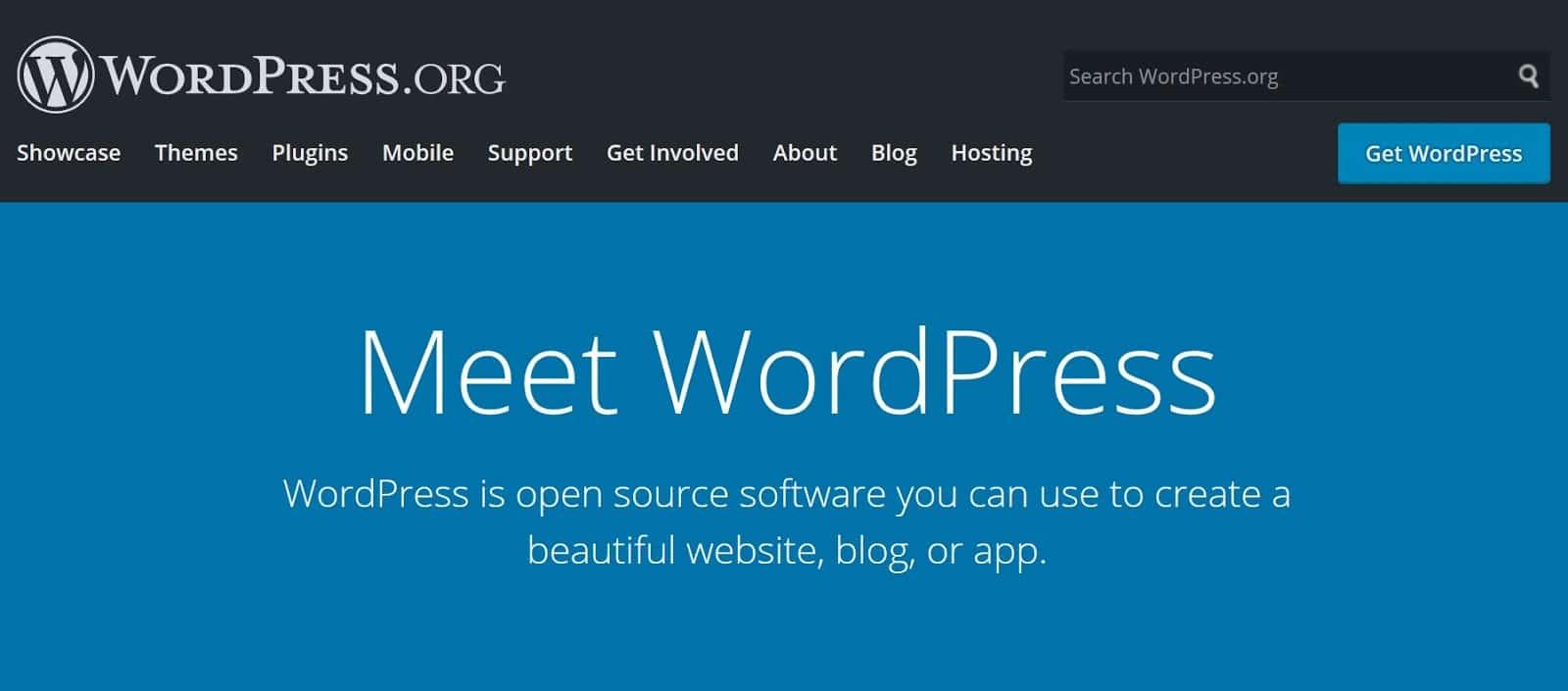 cms software 1 wordpress