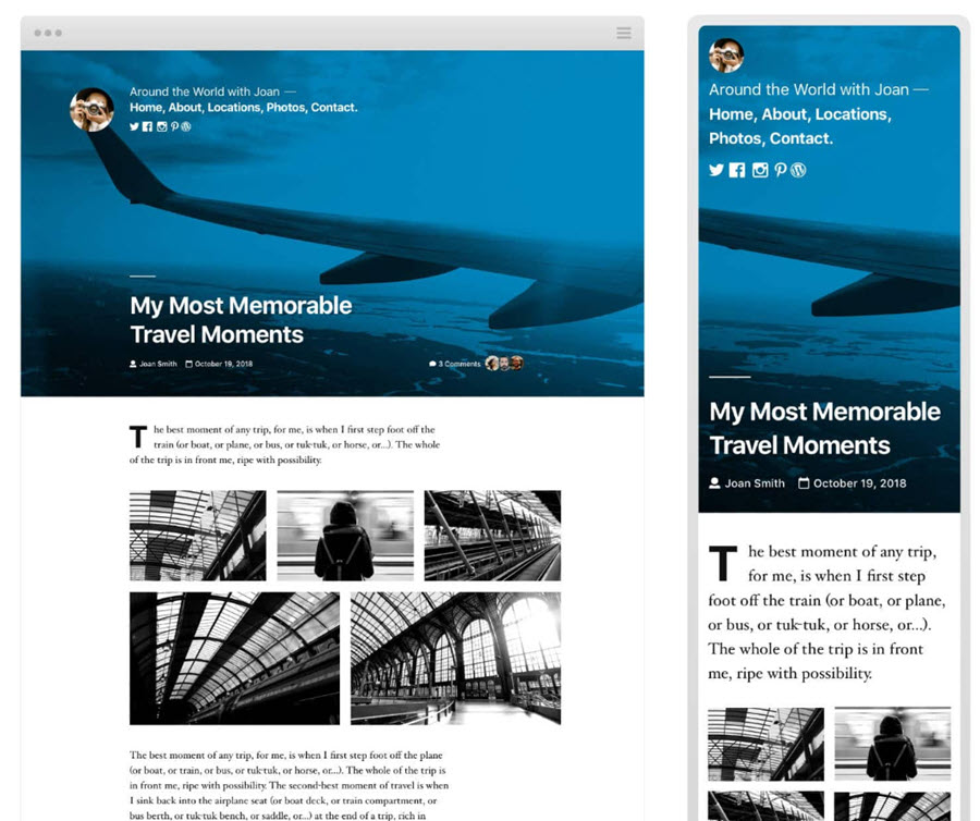 Twenty Twnety - fastest WordPress theme