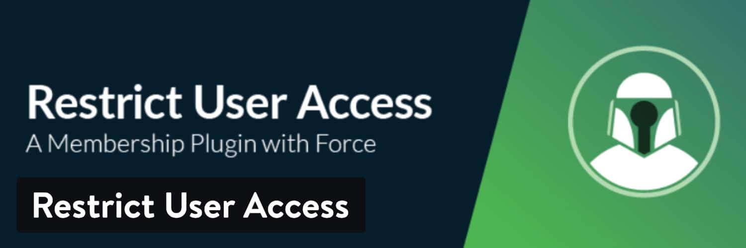 Restrict User Access WordPress plugin