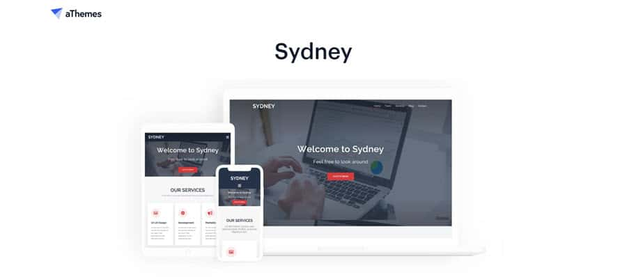 sydney - fastest WordPress theme