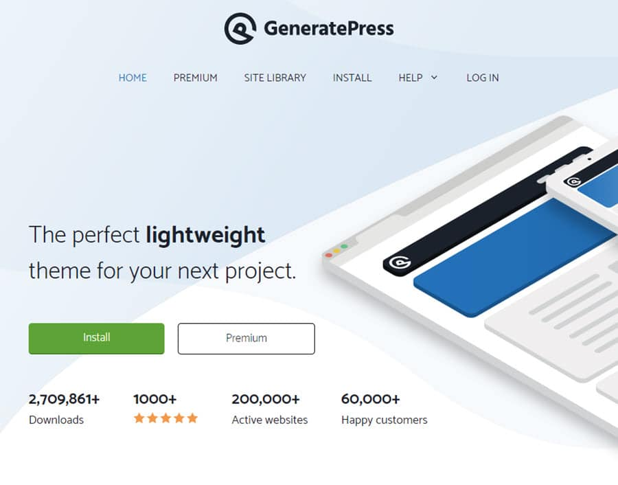 Review - GeneratePress Wordpress Theme 2020 Free Download