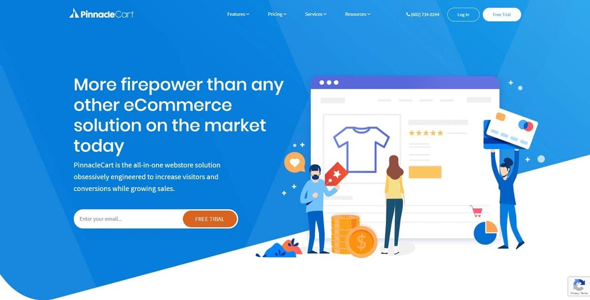 pinnaclecart - shopify alternatives
