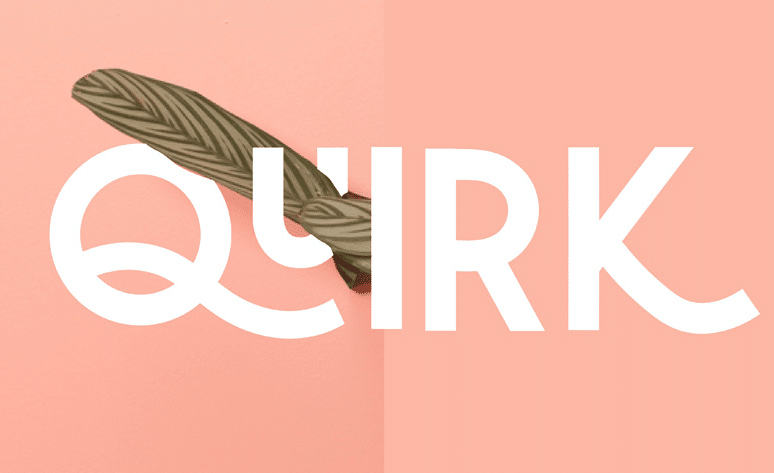 Modern fonts: quirk