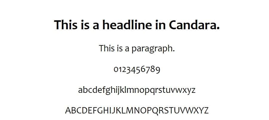 Candaraの例