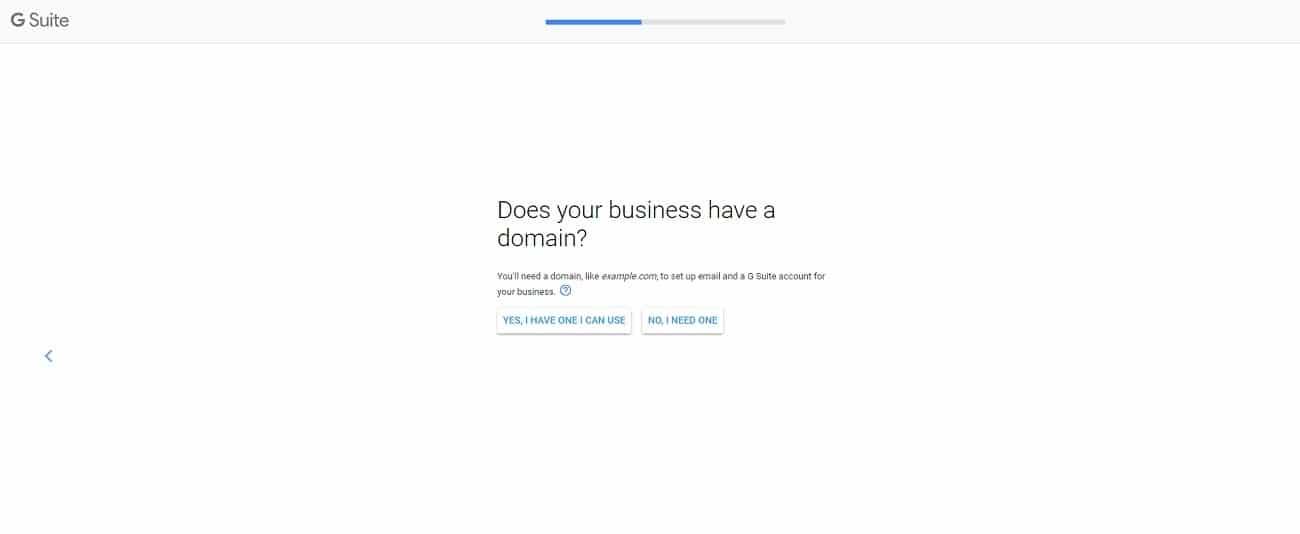 Google Workspaceのドメインに関する確認