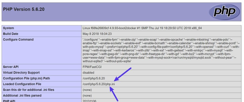 How to find WordPress php.ini file path