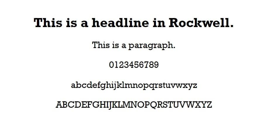 Rockwellの例