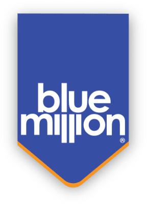 The Blue Million company logo
