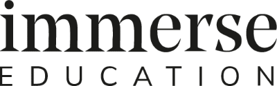 The Immerse Education company logo