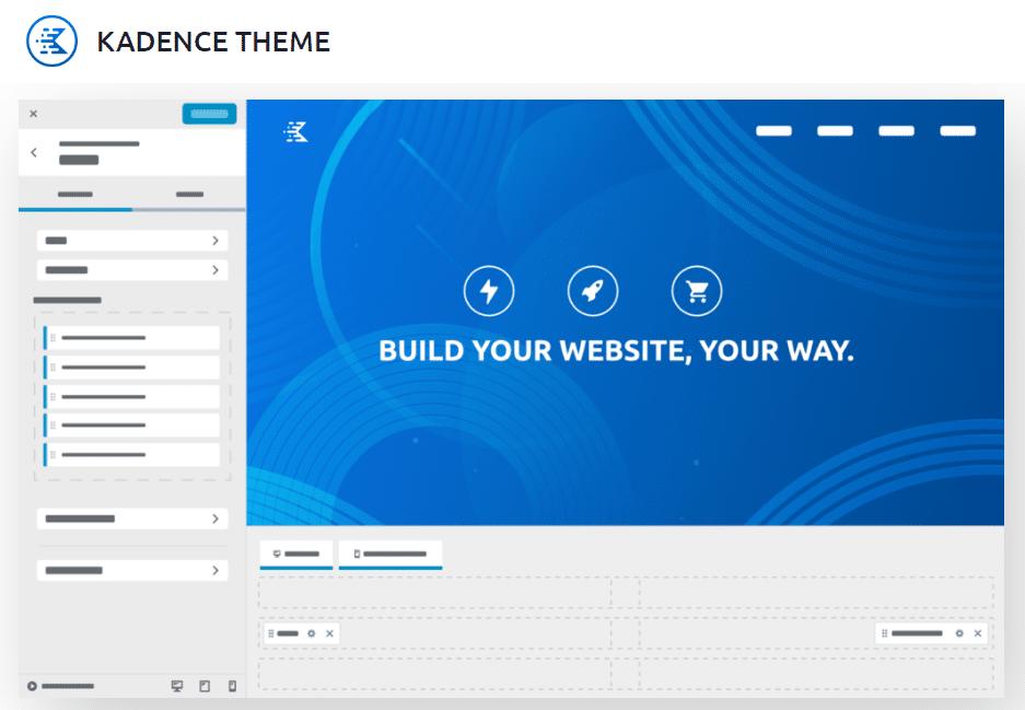 Kadence theme - fastest WooCommerce theme