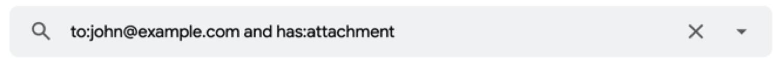 Cómo enumerar los correos electrónicos que incluyen múltiples condiciones
