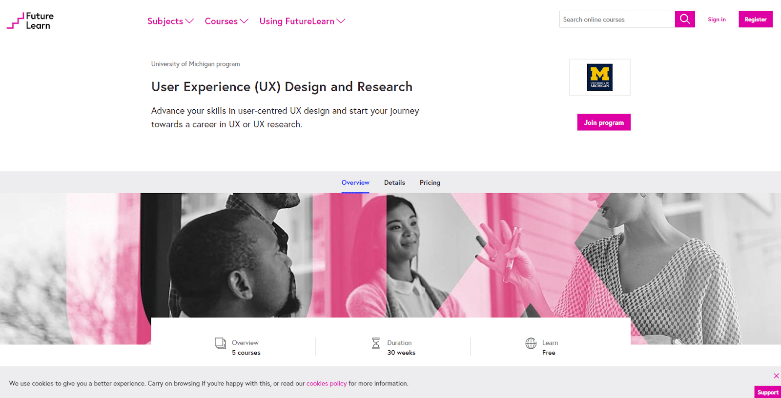 Future Learn - Curso de diseño UX