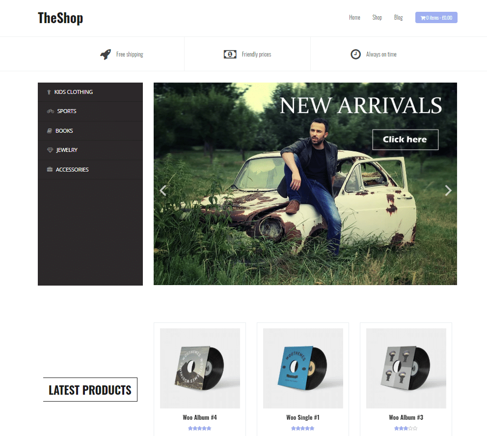 The Shop theme - fastest WooCommerce theme