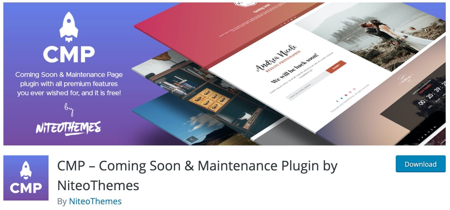 CMP – Coming Soon & Maintenance