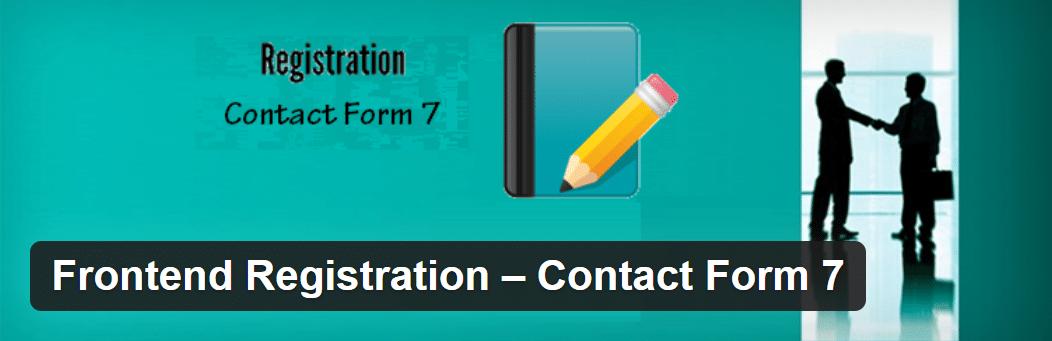 Frontend Registration