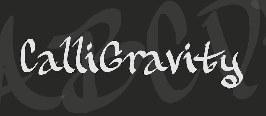 calligravity