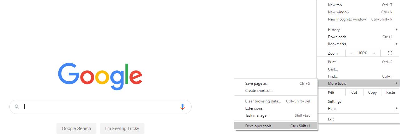 Verificação do status do certificado SSL no Google Chrome
