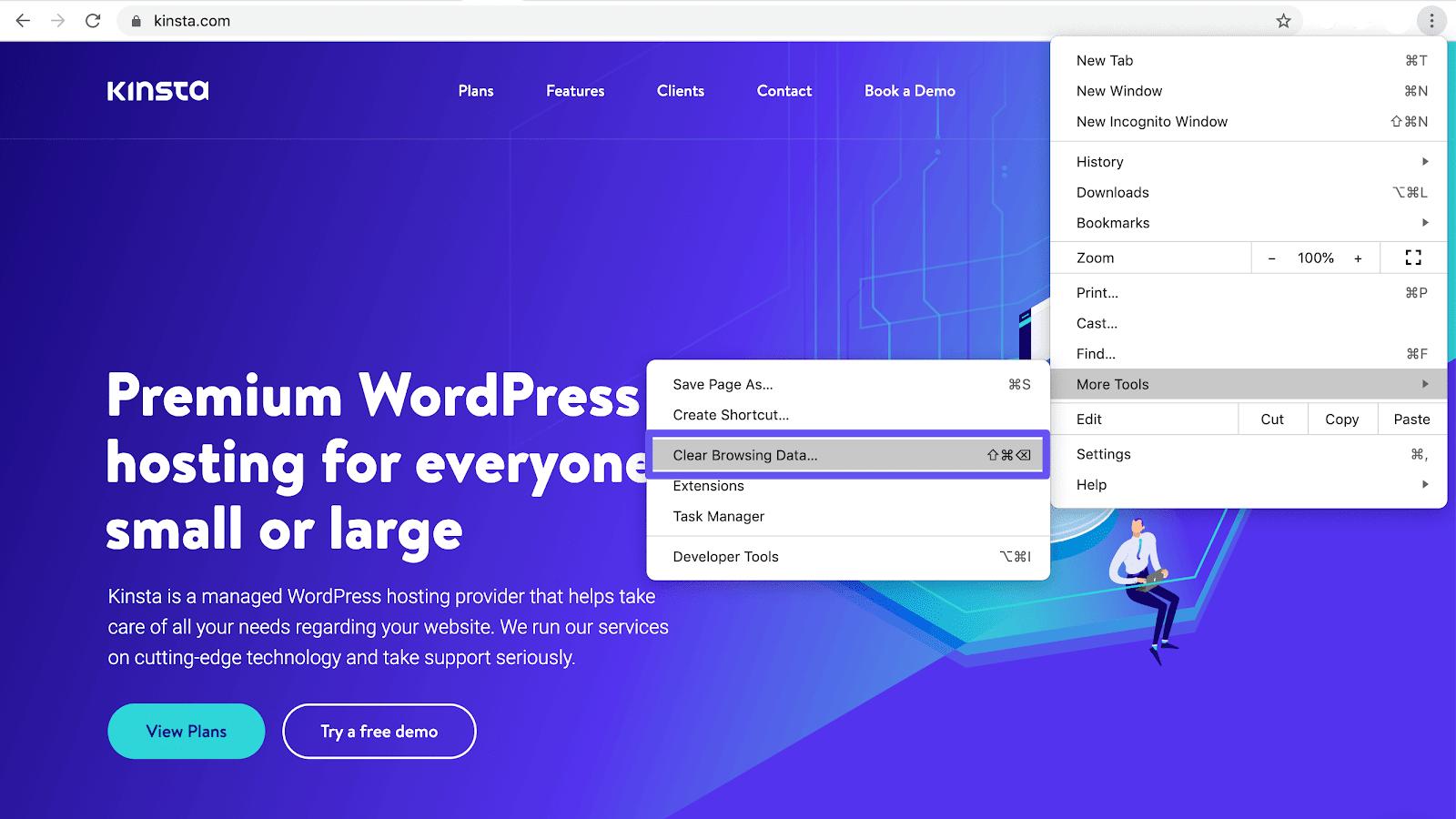 Lösche deine Browser-Daten